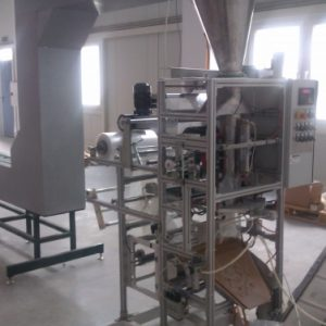 Вертикална опаковъчна машина за пакетиране на дребни части за сглобяване със Z елеватор