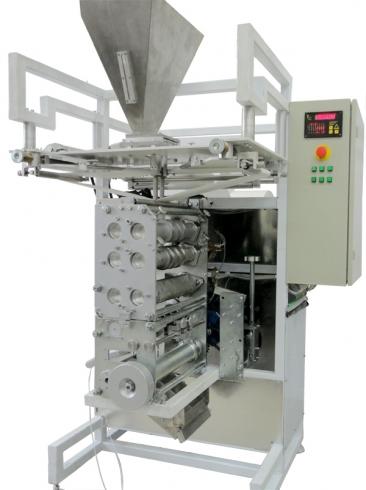 Пакетиращи машини за маломерни насипни продукти в пакети саше