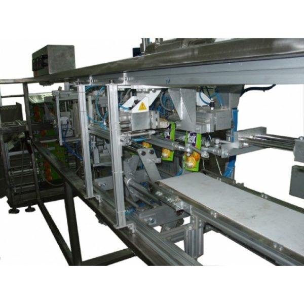 Doypack horizontal packaging machine for liquid products