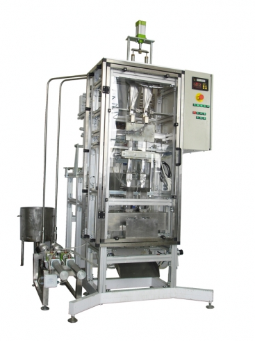 Packaging machines for small-sized liquid product in figure package