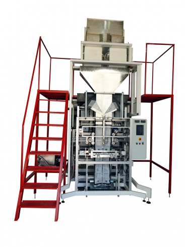 Упаковочный станок в мешки по 15 кг для пеллет