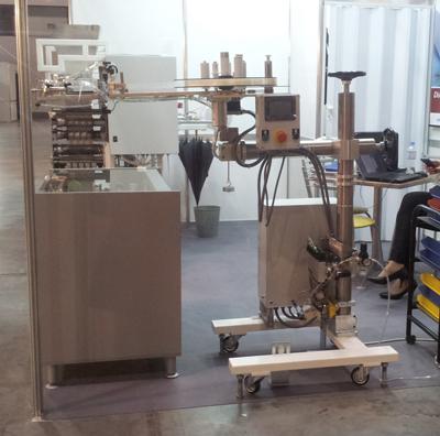 Coffee valve applicators