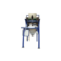 Machine for filling in big bags