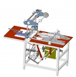 Cellophane over wrapping machine